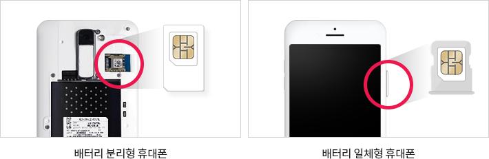 배터리 분리형 휴대폰, 배터리 일체형 휴대폰